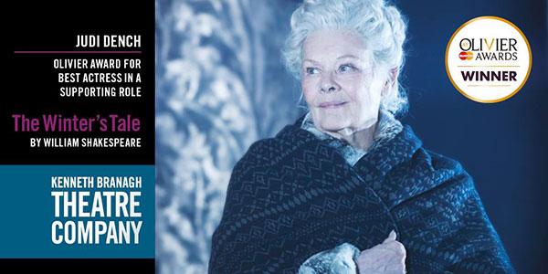 Judi Dench The Winter's Tale